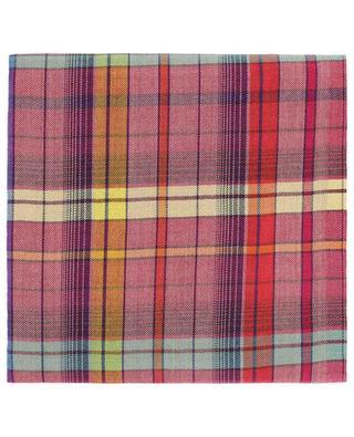 Foulard à carreaux en cachemire, laine et soie mélangés ETRO