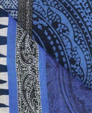 Printed linen scarf ETRO