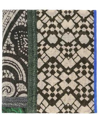 Bedruckter Schal aus Leinen ETRO
