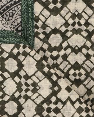 Foulard en lin imprimé ETRO