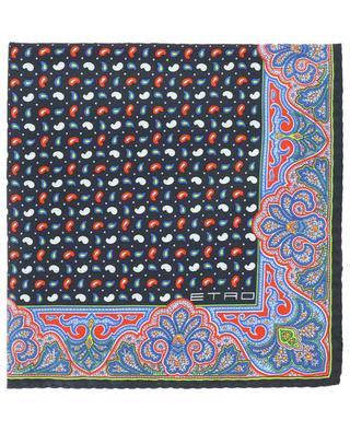 Petit carré de soie imprimée Jamul ETRO