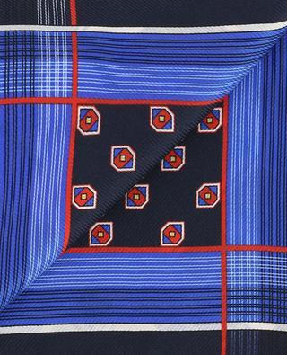 Printed silk pocket square ETRO