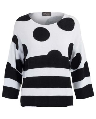 Striped cotton jumper PRINCESS