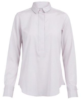 Bedruckte Bluse aus Seide Sahra ARTIGIANO