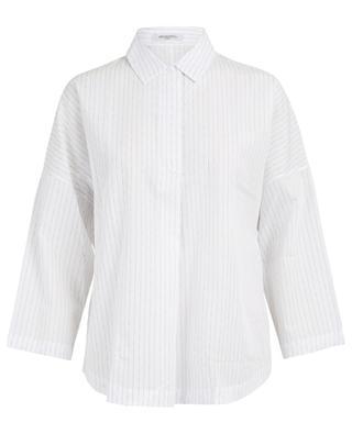 Joy Classic print cotton blouse ARTIGIANO