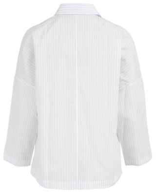 Bluse aus Baumwolle mit Print Classic Joy ARTIGIANO