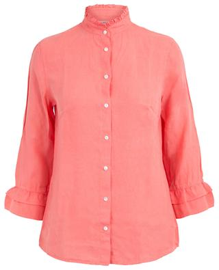Cissy shirt with ruffled stand-up collar ARTIGIANO
