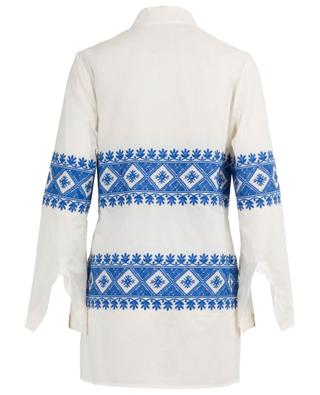 Tunique en voile de coton brodé Stephanie TORY BURCH