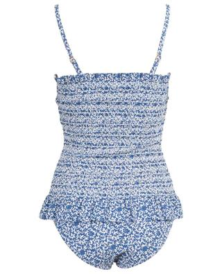 Costa smocked floral swimsuit TORY BURCH