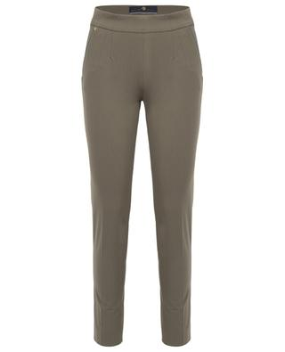 Pantalon slim en coton stretch Brera PAMELA HENSON