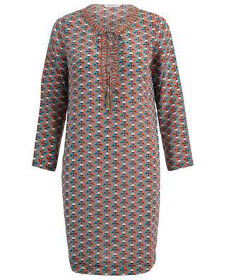 f4aa651e7817a9 Samatha printed silk dress JOYCE & GIRLS ...