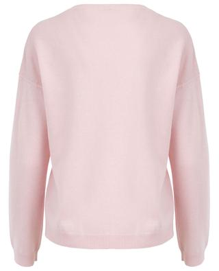 Loose cashmere and SeaCell jumper FTC CASHMERE