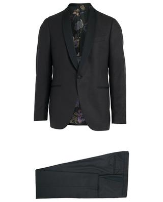 Checked wool blend suit ETRO
