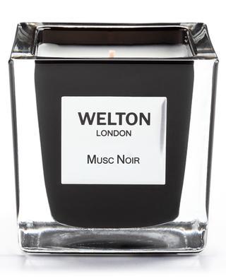 Bougie parfumée Musc Noir - 170 g WELTON LONDON
