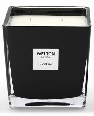 Duftkerze Black Onyx Large - 1,2 kg WELTON LONDON