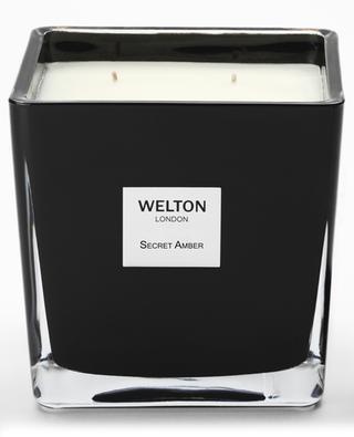 Bougie parfumée Secret Amber Large - 1,2 kg WELTON LONDON