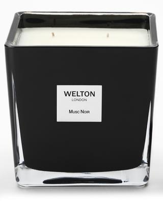 Musc Noir Large scented candle - 1200 g WELTON LONDON