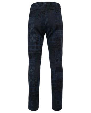 Pantalon slim imprimé patchwork ETRO