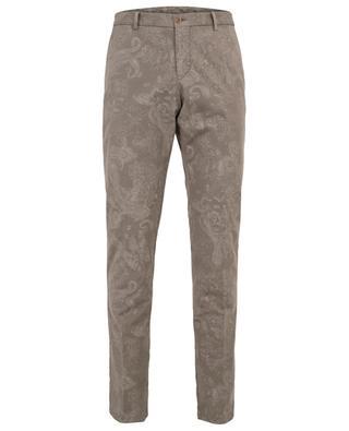 Paisley print slim fit chino trousers ETRO