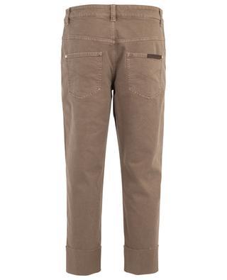 The Cropped Raw Edge boyfriend jeans BRUNELLO CUCINELLI