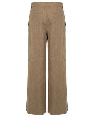Pantalon super-large en lin motif chevron BRUNELLO CUCINELLI