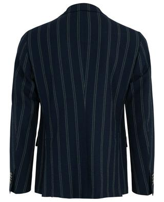 Miro striped seersucker blazer THE GIGI