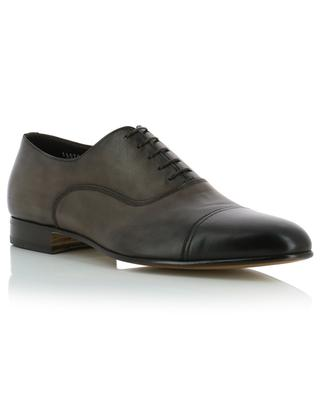 Smooth leather derby shoes SANTONI