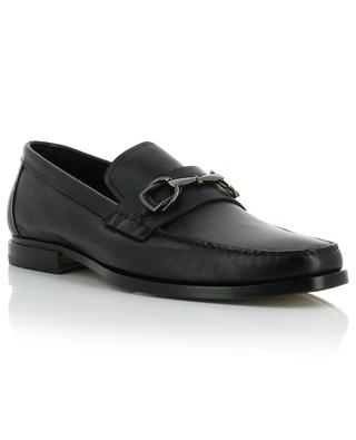 Leather loafers SANTONI