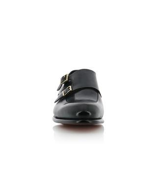 Monk-strap patent leather shoes SANTONI