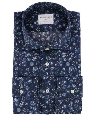 Slim-Fit Hemd mit Blüten Rodi ARTIGIANO