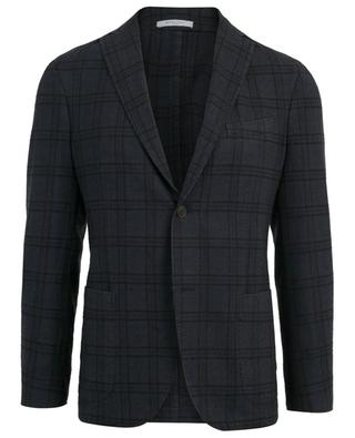 Lightweight checked blazer BOGLIOLI