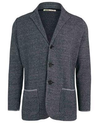 Supple mottled knit blazer MAURIZIO BALDASSARI