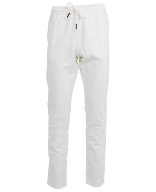Pantalon en coton et lin MAURIZIO BALDASSARI