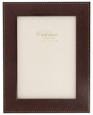 Mogano lacquered wood photo frame NATALINI