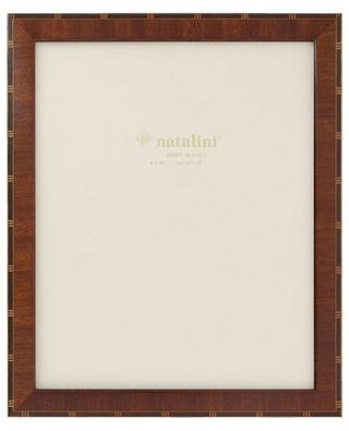 Antiqua Mogano lacquered wood photo frame NATALINI