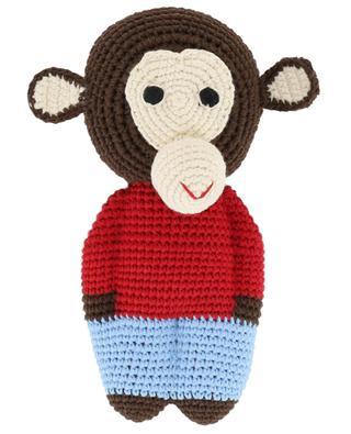 Chimp Midi crocheted monkey ANNE-CLAIRE PETIT