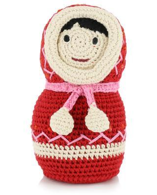 Gehäkelte Puppe aus Baumwolle Eskimo ANNE-CLAIRE PETIT