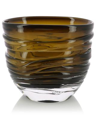 Yarn mouthblown glass vase LSA