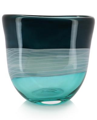 Lourd vase en verre Forest LSA