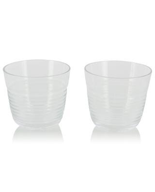 Set aus 2 Gläsern Groove LSA