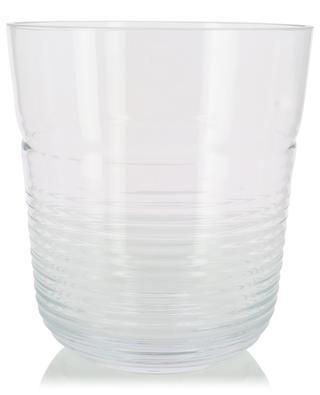 Groove glass ice bucket LSA