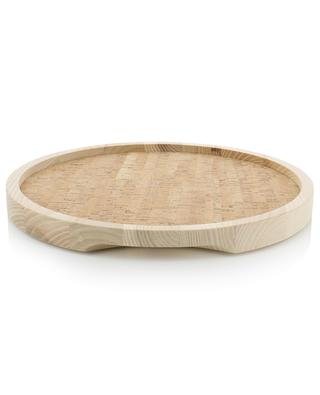 Ivalo wood and cork serving tray LSA