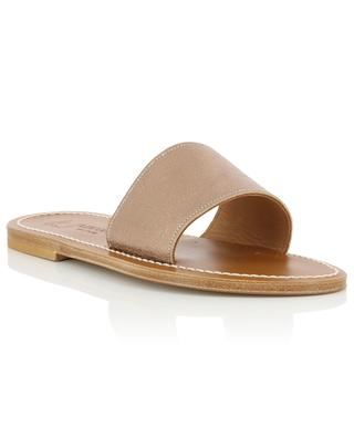 Anacapri leather flat sandals K JACQUES
