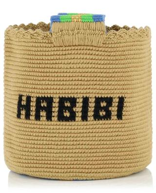 Habibi cotton crocheted bucket bag SORAYA HENNESSY