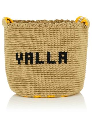 Sac seau en coton crocheté Yalla SORAYA HENNESSY