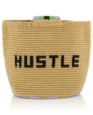 Hustle crocheted cotton shoulder bag SORAYA HENNESSY