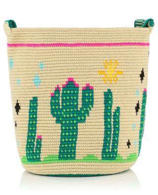 Häkeltasche aus Baumwolle Endless Summer Cactus SORAYA HENNESSY