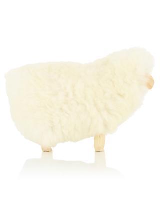 MOT0 mini wood and wool sheep FOUTAZUR