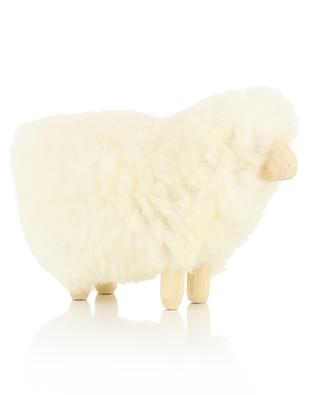 MOT0 mini wood and wool sheep FOUTAZUR