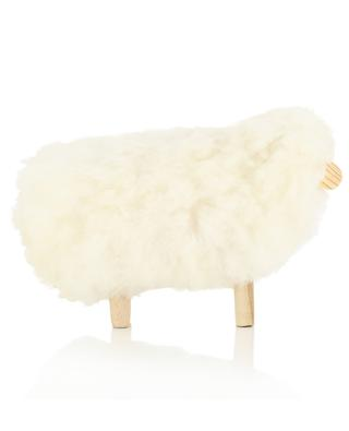 MOT1 small wool and wood sheep FOUTAZUR